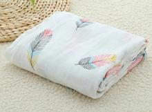 Load image into Gallery viewer, Muslin Baby Swaddle Blankets
