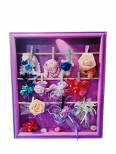 Load image into Gallery viewer, Hair Accessories Wood Holder/organizer