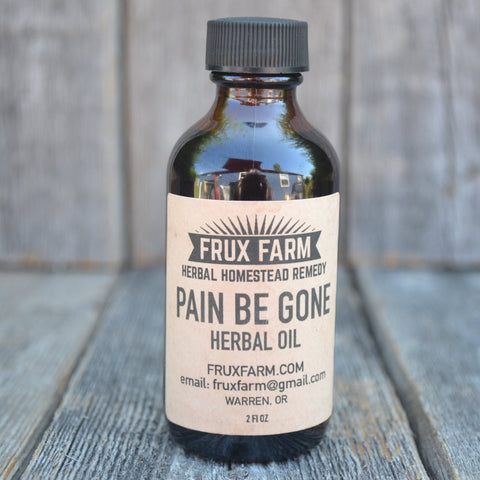 Pain Be Gone Herbal Oil