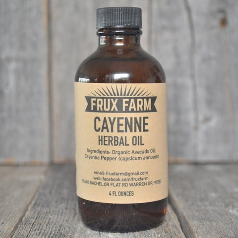 Cayenne Herbal Oil