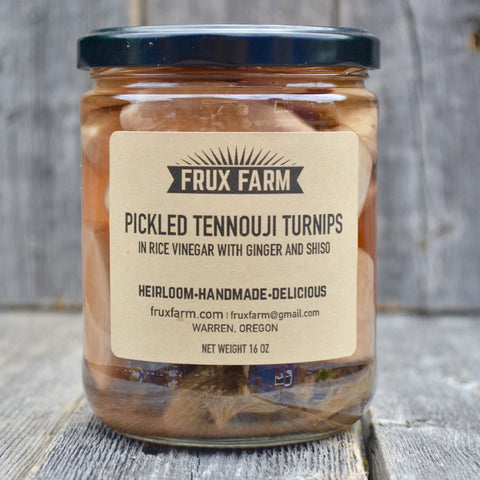 Pickled Tennouji Turnips