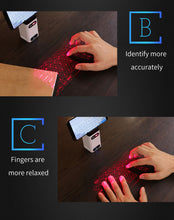 Load image into Gallery viewer, Bluetooth virtual laser keyboard | Odamiry