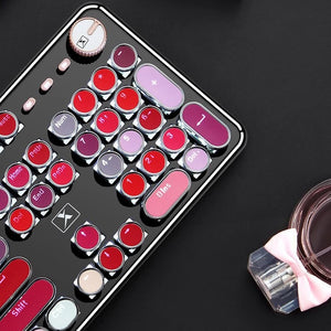 Lipstick Colors Backlit Mechanical Keyboard Metal | Odamiry