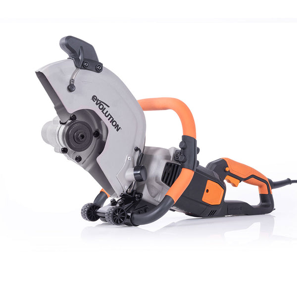Evolution R300DCT+ 12 in. Electric Concrete Cut-Off Saw, Demo Saw, Disc Cutter with Dust Suppression (Optional Blades)