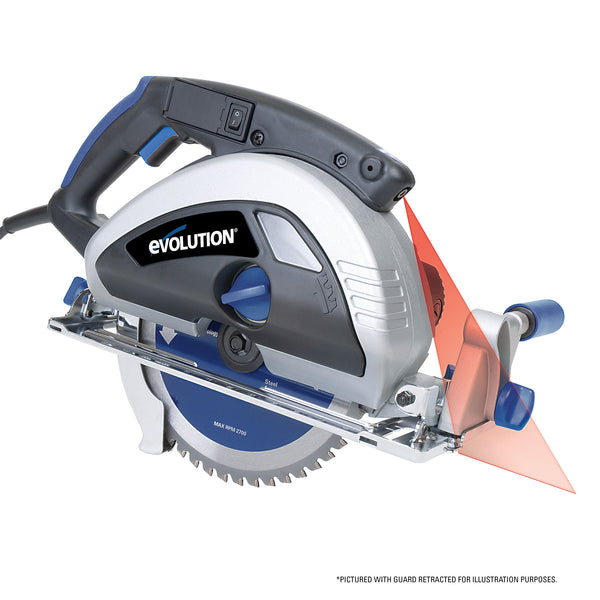 EVOSAW230: Metal Cutting Circular Saw With 9 In. Blade - Evolution Power Tools LLC