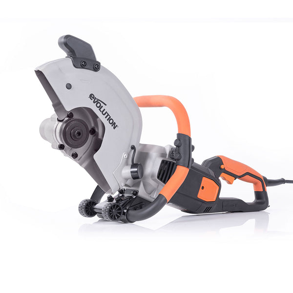 Evolution R300DCT 12 in. Electric Concrete Cut-Off Saw, Demo Saw, Disc Cutter (Optional Blades)