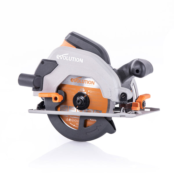 R165CCSL: Multi-Material Cutting Circular Saw With 6-1/2 in. Blade - Evolution Power Tools LLC