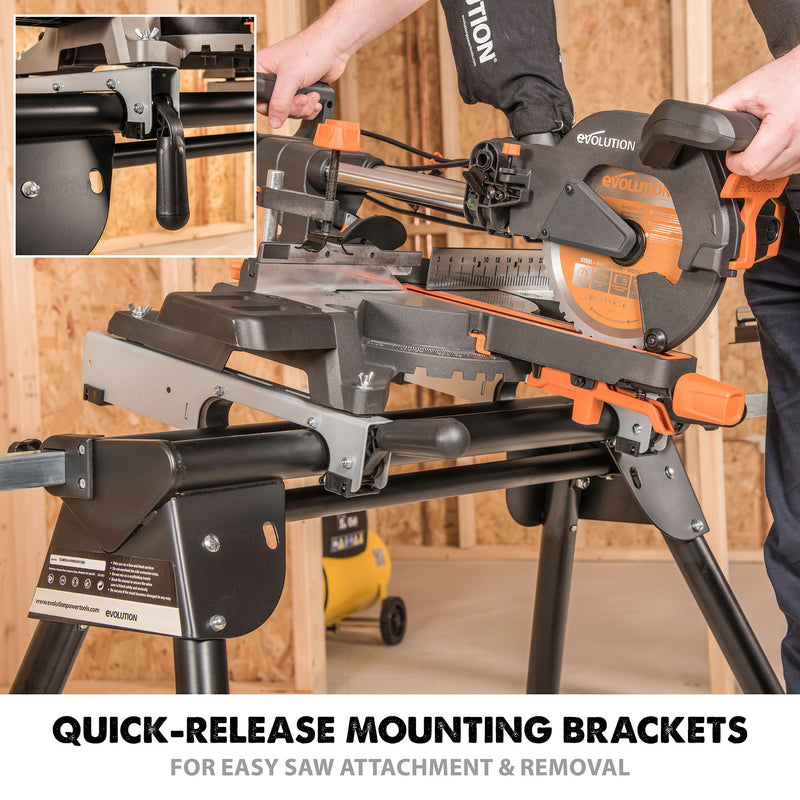 Miter Saw Stand - Evolution Power Tools LLC