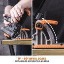 R185CCS: Multi-Material Cutting Circular Saw 7-1/4 in. Blade - Evolution Power Tools LLC