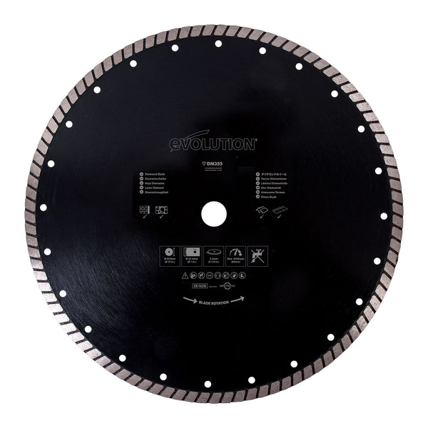 Diamond Masonry Blades - Evolution Power Tools LLC
