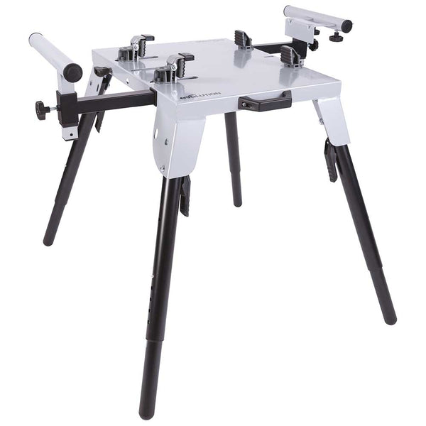Evolution Universal Chop Saw Stand With Telescopic Arms and Folding Legs