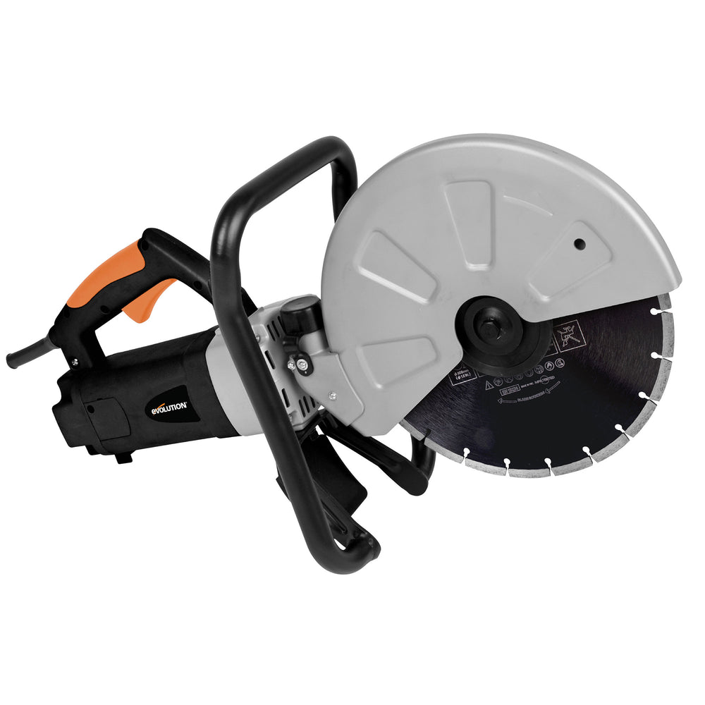 Electric Concrete Saw with 12 in. Diamond Blade