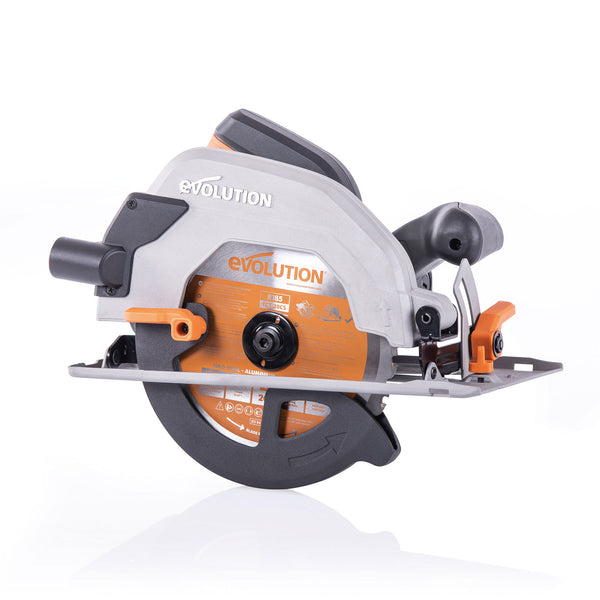 R185CCSL: Multi-Material Cutting Circular Saw 7-1/4 in. Blade - Evolution Power Tools LLC