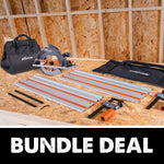 Circular Saw, Storage Bag & Track Bundle Deal