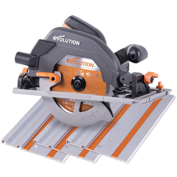 R185CCSX: Multi-Material Cutting Circular Saw 7-1/4 in. Blade - Evolution Power Tools LLC