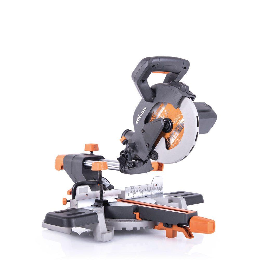 R185SMS: Sliding Miter Saw With 7-1/4 in. Multi-Material Cutting Blade