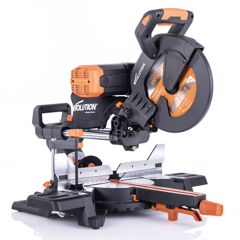 R255SMS-DB+: Dual Bevel Sliding Miter Saw With 10 in. Multi-Material Cutting Blade