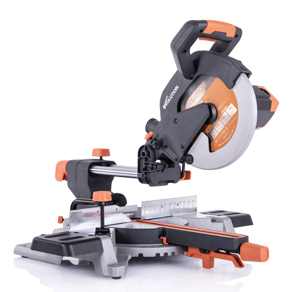 R255SMSL: Sliding Miter Saw With 10 in. Multi-Material Cutting Blade - Evolution Power Tools LLC