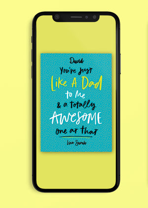 Awesome Dad Father's Day Digital Card