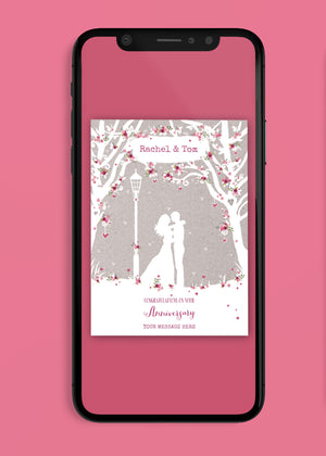 Load image into Gallery viewer, Roses Anniversary Digital Card