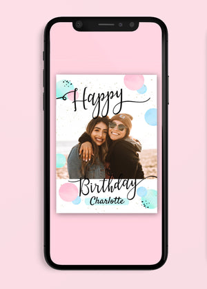 Load image into Gallery viewer, Birthday Bright Digital Card