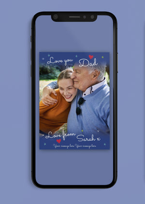 Load image into Gallery viewer, Love Photo Digital Card