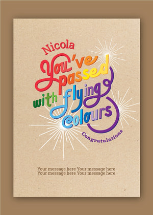 Flying Colours Congratulations Digital Card