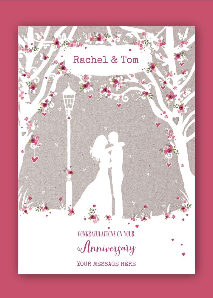 Roses Anniversary Digital Card