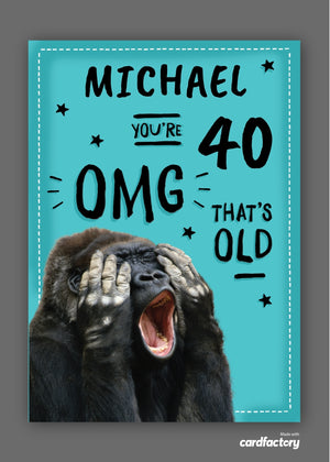 Load image into Gallery viewer, OMG Birthday Digital Card