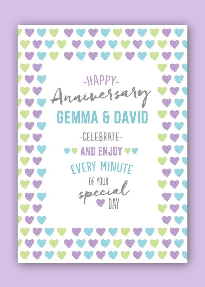 Every Minute Anniversary Digital Card
