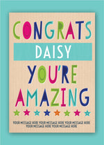 Amazing Congratulations Digital Card