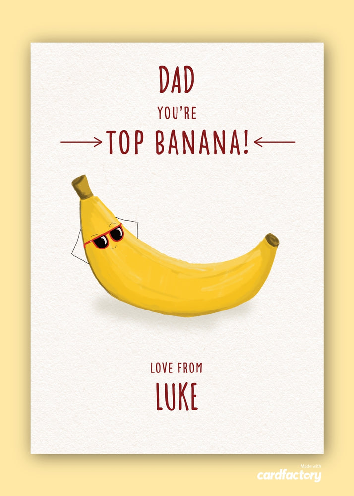 Load image into Gallery viewer, Top Banana Dad Digital Card