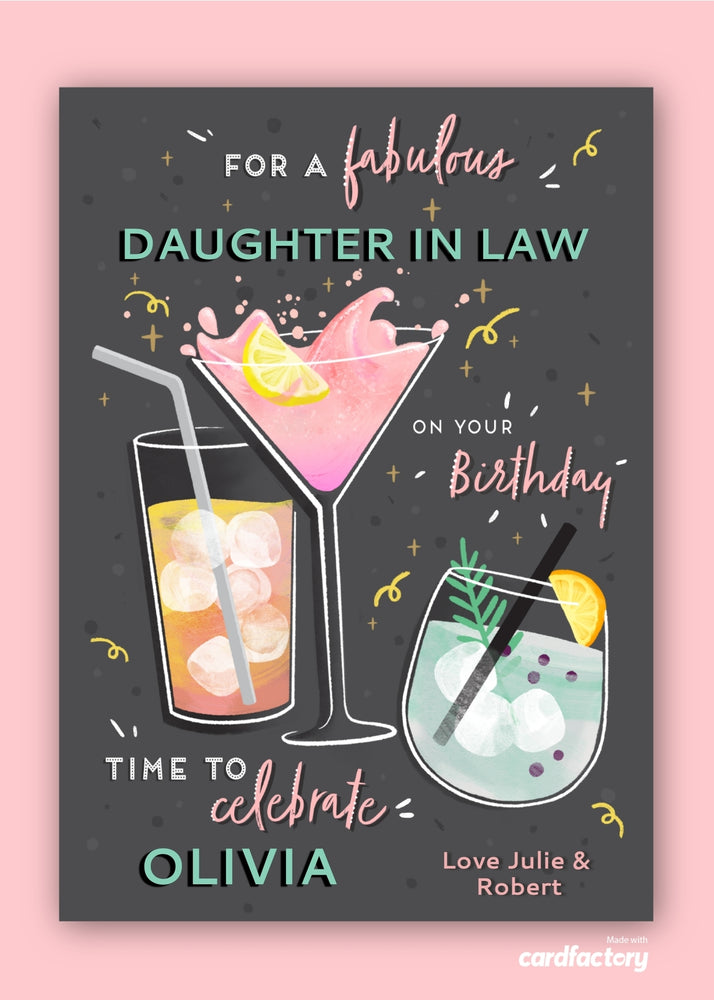 Fabulous Birthday Digital Card