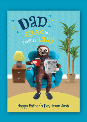 Relax Dad Digital Card