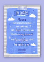 Sorry Friendship Digital Card