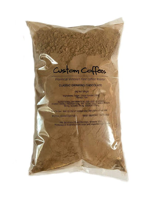 Classic Drinking Chocolate - 1 kg - Custom Coffees