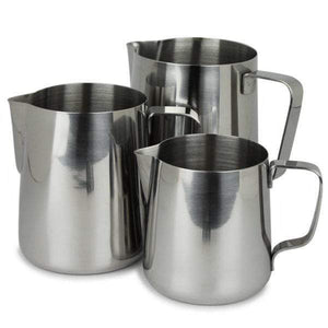 Incasa milk jugs /steam pitchers - 400ml - Custom Coffees