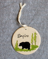 Empire Bear Pottery Ornament