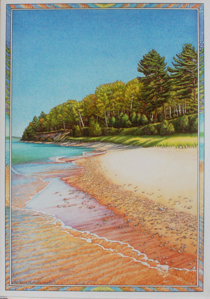 Cards Of Leelanau County, single design