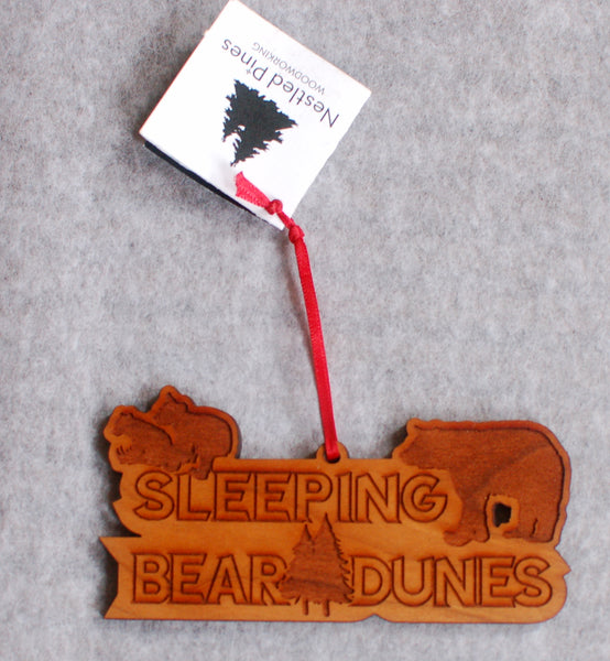 Sleeping Bear Dunes Bear Ornament