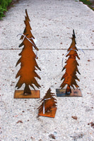 Rusted Metal Trees
