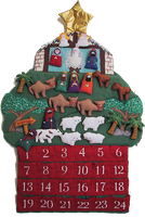 Fabric Advent Calendars