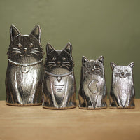 Pewter Cat Measuring Spoons