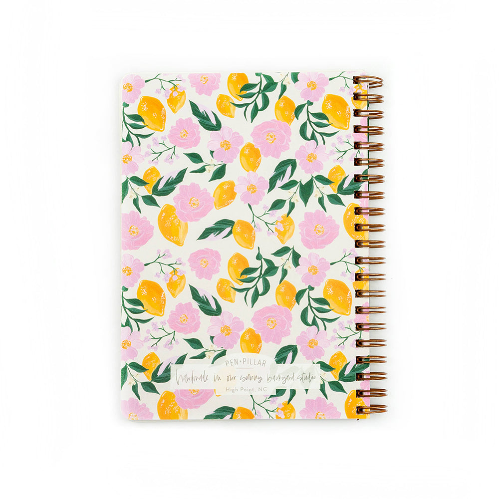 Pen + Pillar Lemon Handmade Notebook To Do