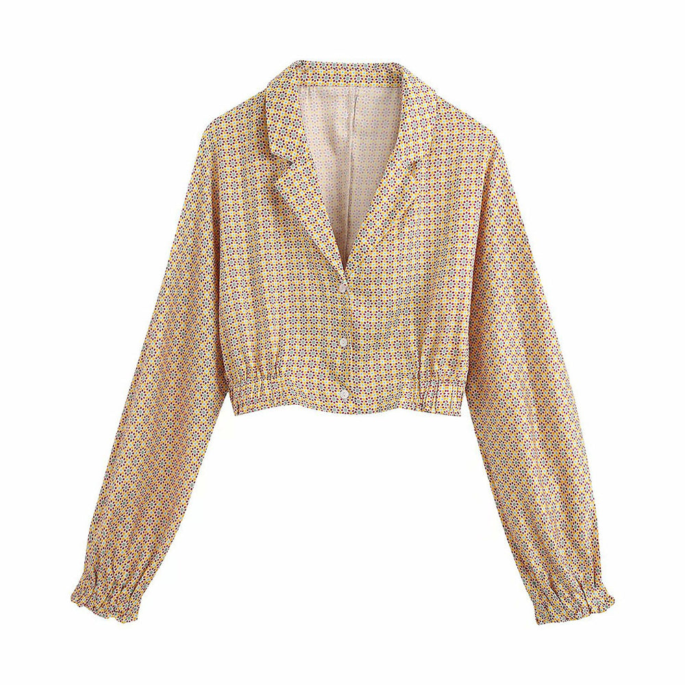 Juliette Patterned Shirt