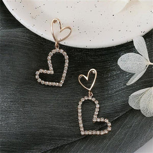 Thea Heart Drop Earrings