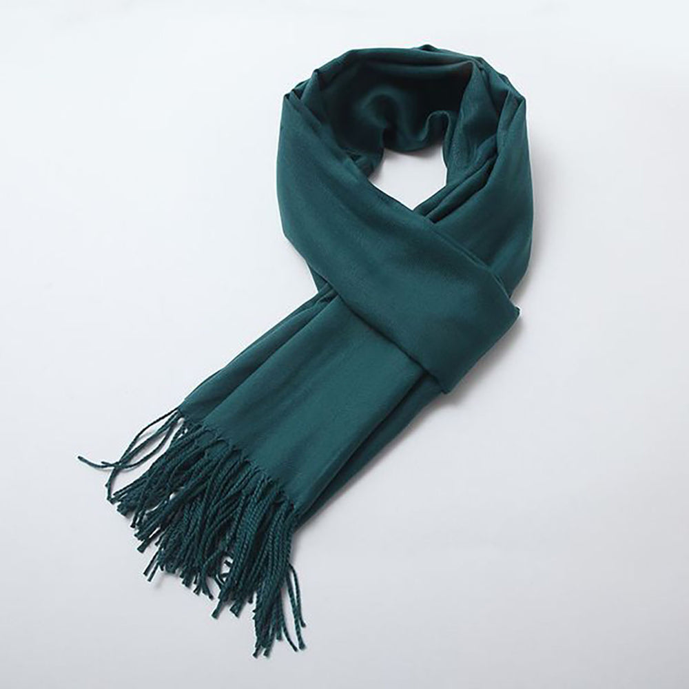 Luna Scarf In Forest Green
