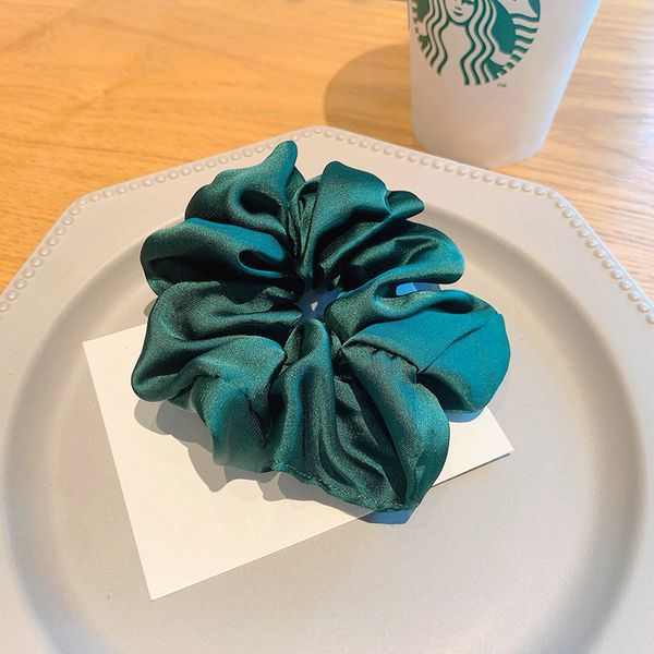 Katrina Scrunchie In Christmas Green
