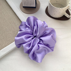 Alexa Large Scrunchie In Lilac