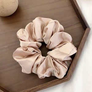 Athena Large Scrunchie In Champagne